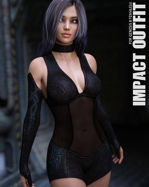 Impact Outfit for Genesis 8 Females