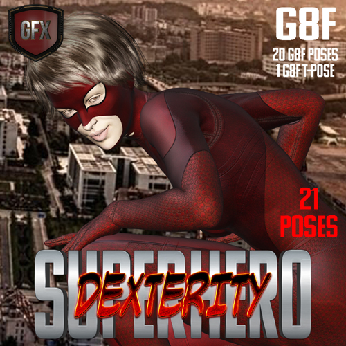 SuperHero Dexterity for G8F Volume 1