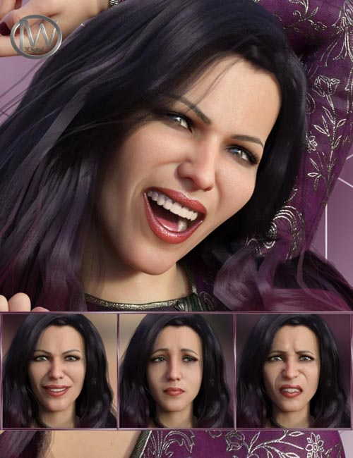 Feelings - Expressions for Genesis 8 Female and Bridget 8