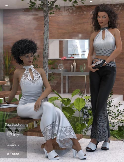 dForce Sophia Outfit for Genesis 8 Female(s)