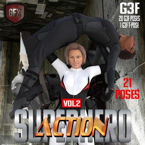 SuperHero Action for G3F Volume 2