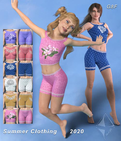 Summer Clothing 2020 for G8F