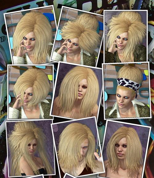 Val BeBe Hair & Buns 3in1
