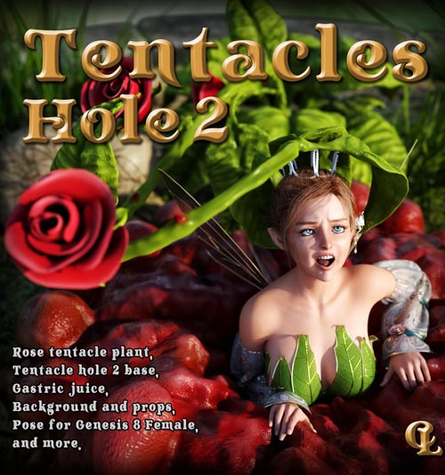 Tentacles Hole 2 For Daz Studio