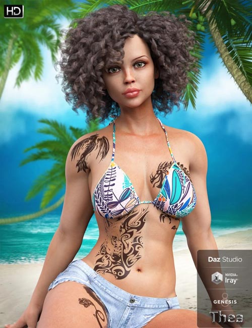 Thea HD for Genesis 8 Female
