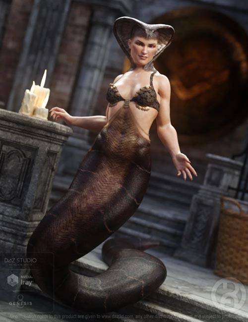 Cobra Queen for Genesis 8 Female