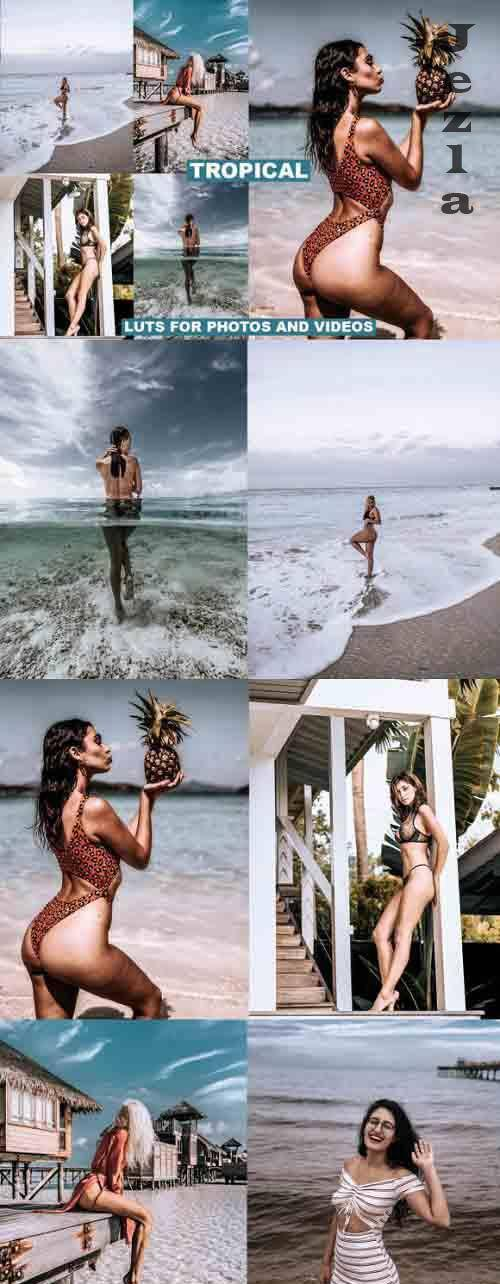 Tropical Film LUTS for Videos & Photos