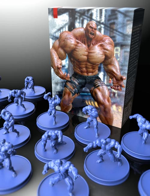 Poses and Expressions for Colossus HD