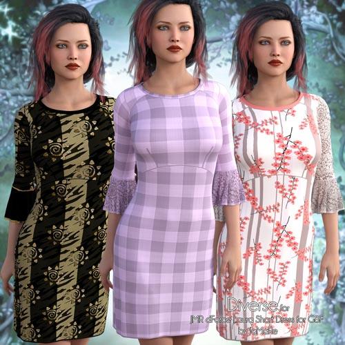 Diverse for Laura Short Dress