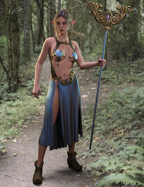 Illusion Armor for Genesis 8 Females
