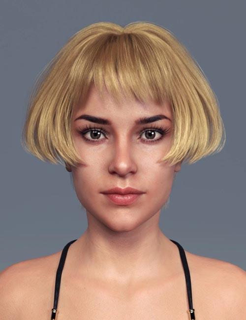 Du Hair for Genesis 8 Female(s)