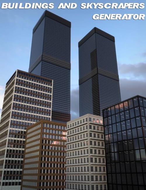 V3Digitimes Buildings and Skyscrapers Generator Vol. 1