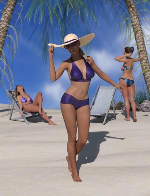 dForce Ready Lit Fashion Poses for Genesis 8 Female