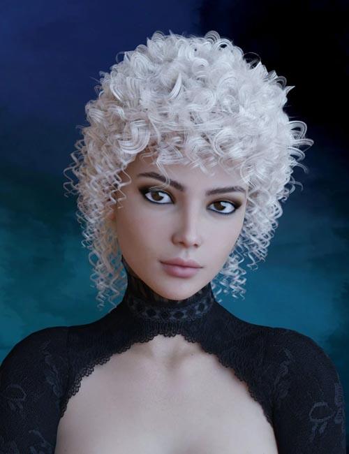 Rosabel Hair for Genesis 8 Female(s)