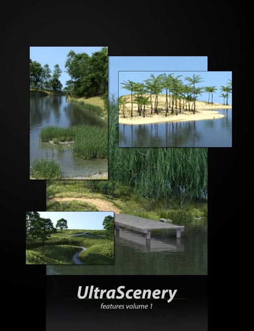 UltraScenery - Landscape Features Volume 1