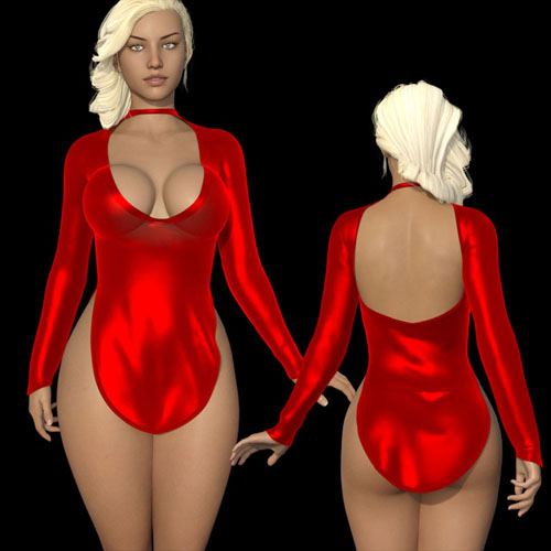 dForce Cutout Dress G8F + Poses