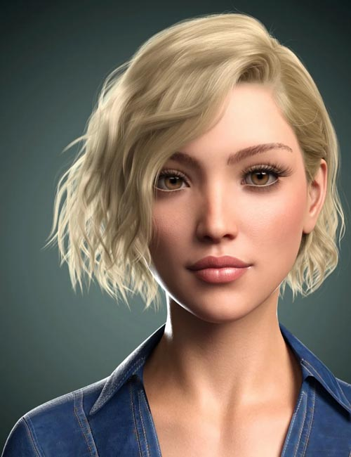 Karla Hair for Genesis 8 Female(s)