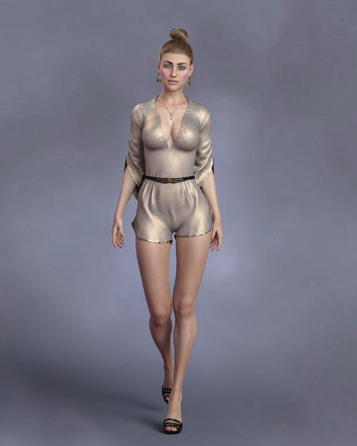 KrashWerks BRITTANY for Genesis 8 Female