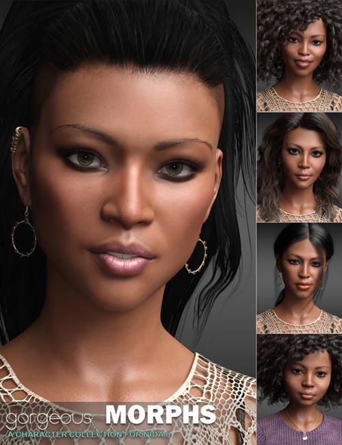 Gorgeous Morphs for Nida 8