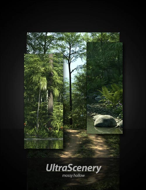 UltraScenery - Mossy Hollow