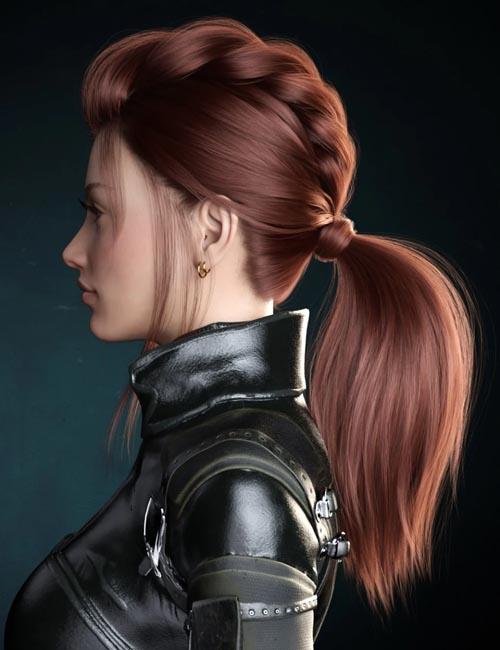 Kelly Hair for Genesis 8 Female(s)