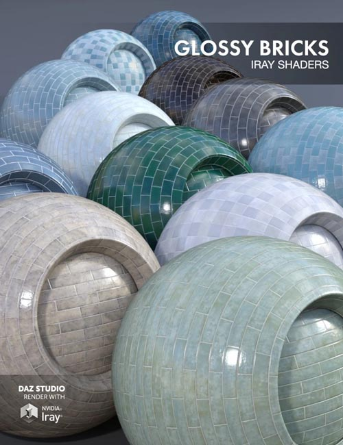 Glossy Bricks - Iray Shaders