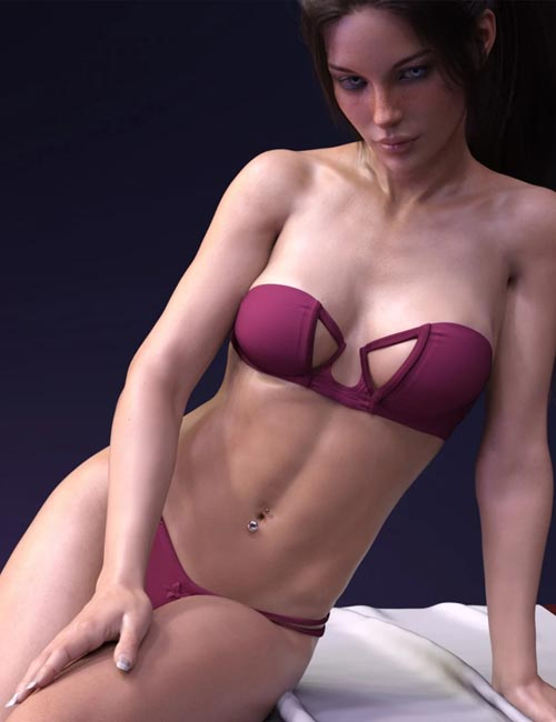 X-Fashion Day Dream Lingerie for Genesis 8 Female(s)