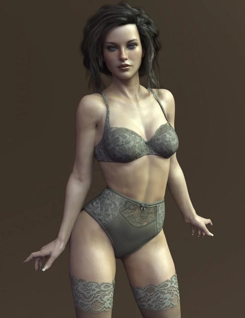 X-Fashion Muse Lingerie for Genesis 8 Female(s)