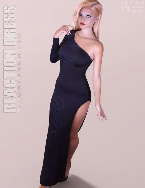 dForce Reaction Dress for Genesis 8 Females
