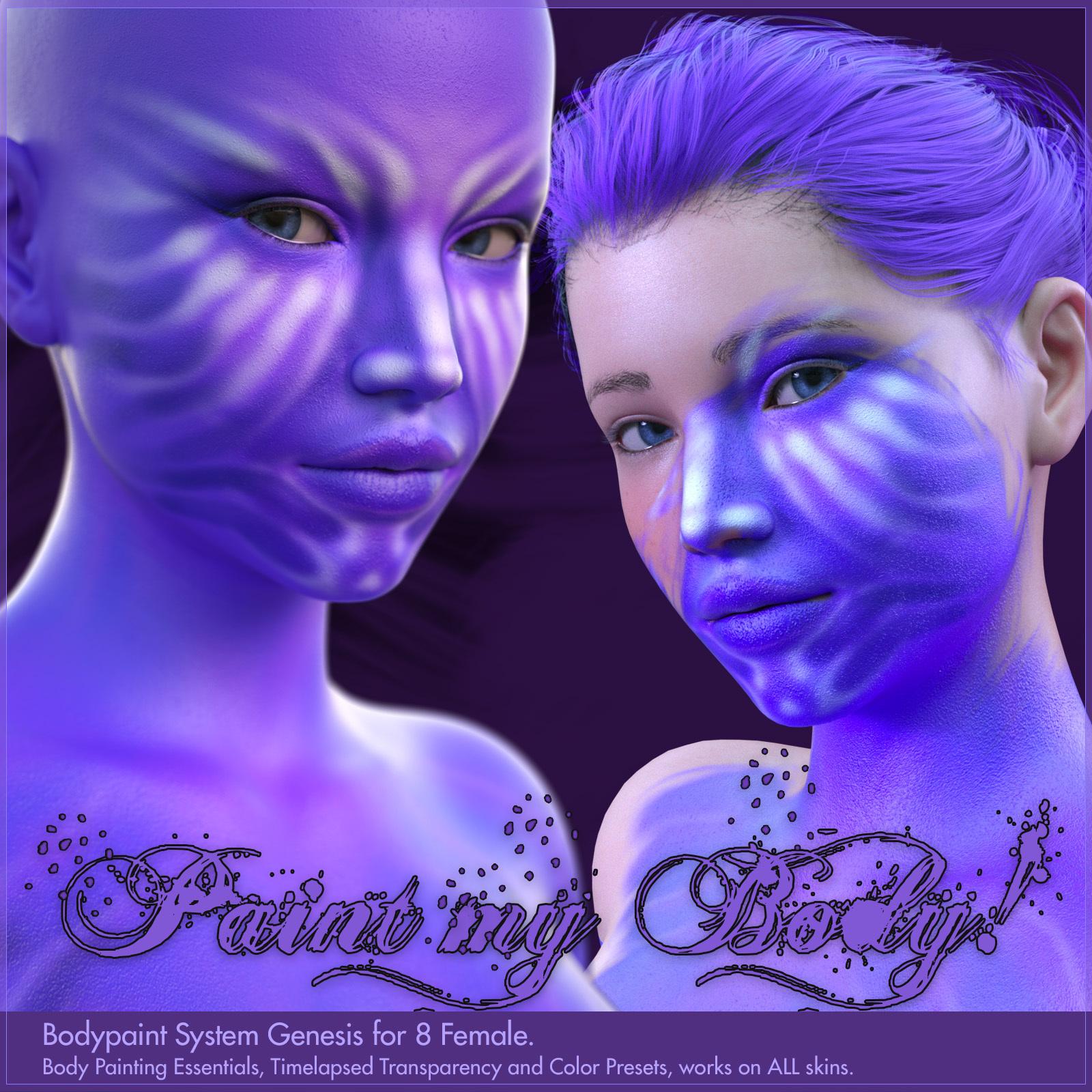 Bodypaint for Genesis 8 Female