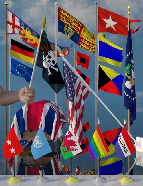 Flags Galore