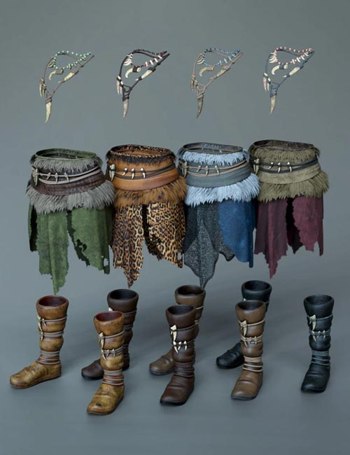 dForce Cimmerian Outfit Textures