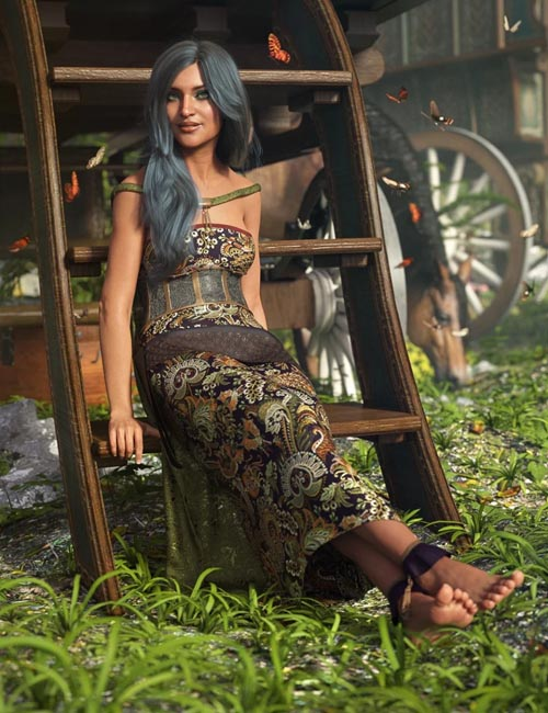 dForce Gypsy Soul for Genesis 8 Female(s)