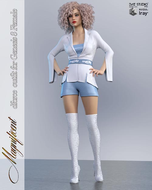 Magnificent dForce Outfit for Genesis 8 Females