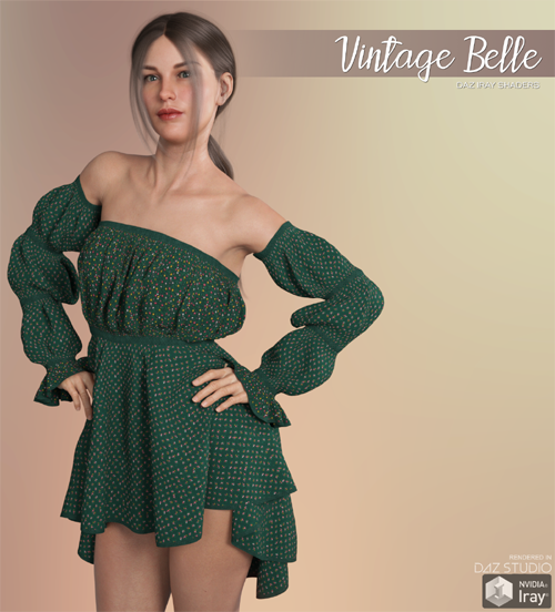 Daz Iray - Vintage Belle