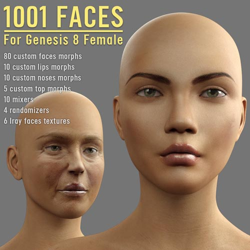 1001 Faces for G8 females