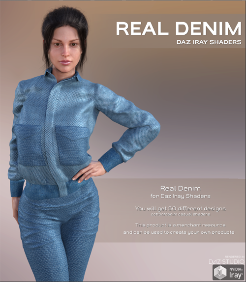 Daz Iray - Real Denim
