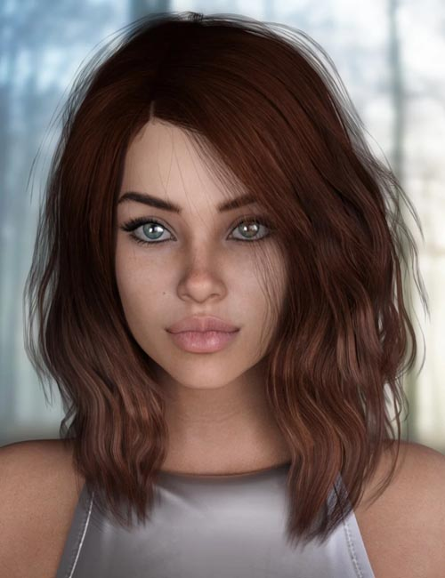 Loona Hair for Genesis 3 and 8 Female(s)