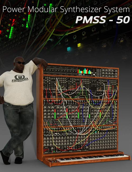 Power Modular Synthesizer System PMSS-50