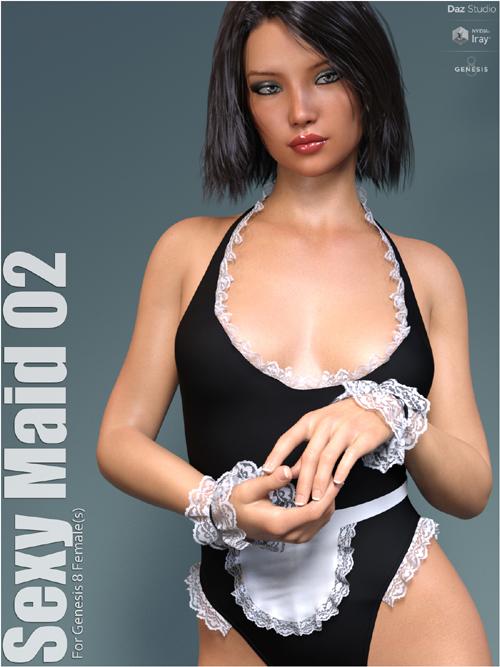 dforce Sexy Maid 02