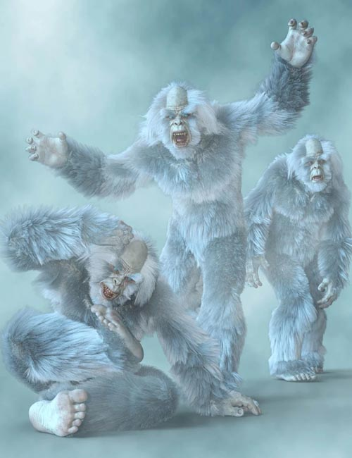 CDI Poses for Yeti HD and Genesis 8 Male