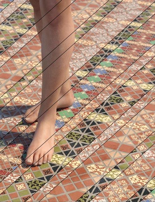 Medieval Inspired Floor Tile Shaders Vol 4