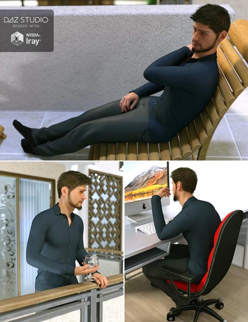 Hearth & Home for Genesis 8 Male
