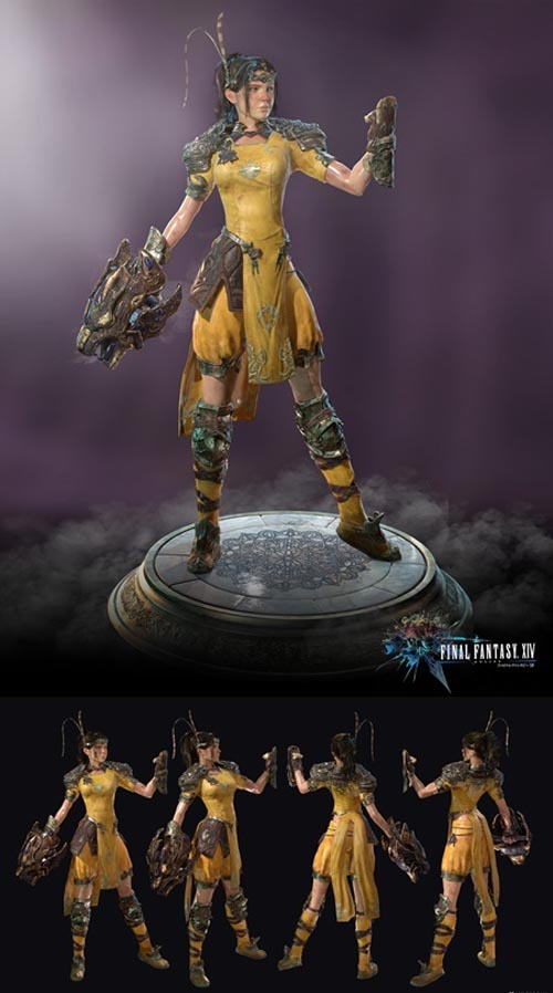 Final Fantasy XIV Monk Class