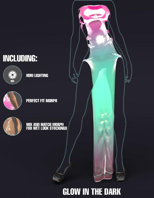 Iray FX Material Addon for dforce ConflictDress
