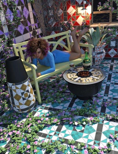 Edwardian Inspired Floor Tile Shaders Vol 2