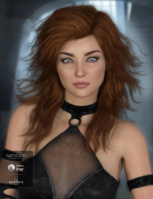Robin Hair for Genesis 8 Female(s)