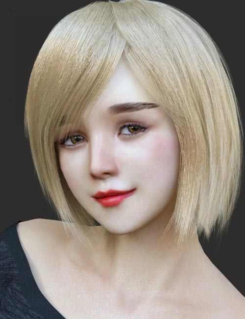HS Keicy Short Hair with dForce for Genesis 8 Female(s)