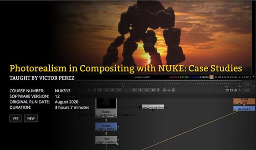 FXPHD - NUK313 Photorealism in Compositing with NUKE Case Studies