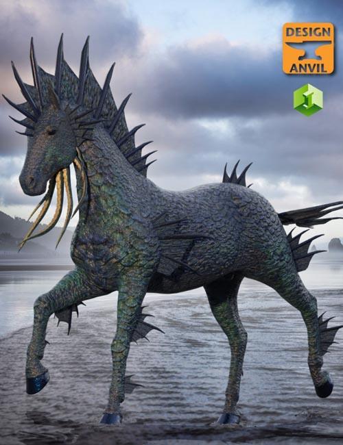 DA Water Horse for Daz Horse 2